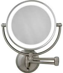 wall mounted makeup mirror. This One Meets All Of Your Expectations. It Is Battery Operated Wall Mounted Lighted Makeup Mirror