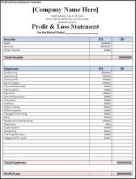 Financial Statement Cover Letter 10 Best Profit And Loss Statement Images Profit Loss