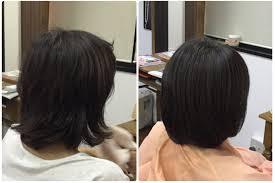Iくせ毛スカスカまとまらない髪にすきハサミを使わないカットで解決