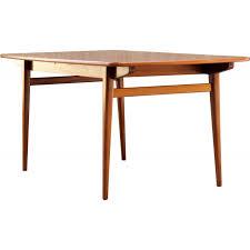 Perfect Table De Salle à Manger Vintage En Teck Massif   1960