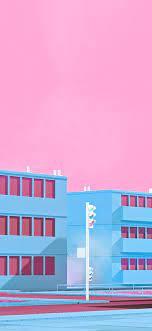 bf56-school-anime-illust-blue-minimal ...