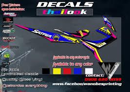Decals Design For Raider 150 Raider 150 Thai Look Satria Decal
