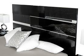 Modern Black Bedroom Modrest Ancona Italian Modern Black Bedroom Set