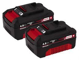 <b>Аккумулятор Einhell</b> Power-X-Change Twinpack <b>4.0 Ah 18V</b> ...