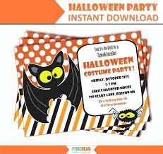 Free Halloween Birthday Invitation Templates Halloween Party Invitations Halloween Party Invitation Ideas