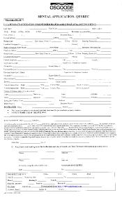 Application Form For Rental Quebec Rental Application Form Pdfsimpli