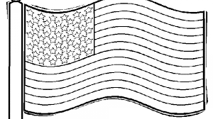 American Flag Coloring Page Trump Pages Printable For Preschool Pdf