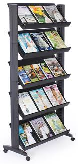 Library Book Display Stands Literature Display Shelf 100 Height Adjustable Shelves Book Display 21