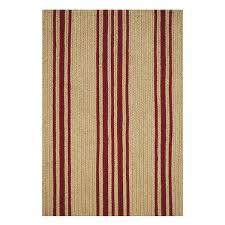baker farmhouse beige red jute braided rugs