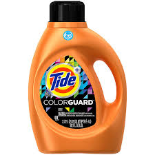 How Much He Detergent To Use Tide Plus Color Guard He Liquid Laundry Detergent 92 Oz