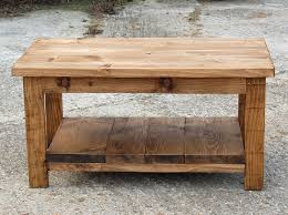 rectangular scaffold board coffee table
