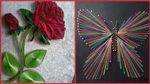 Nail String Art Designs Beautiful Nail String Art Ideas