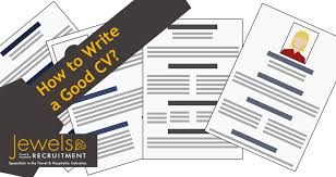 How To Write A Good Cv How To Write A Good Cv For The Travel Tourism Industry
