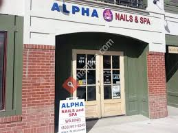 alpha nails and spa nail and manicure