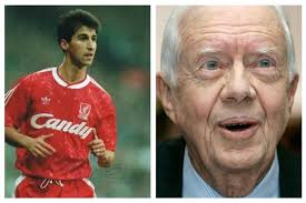 Football news, scores, results, fixtures and videos from the premier league, championship, european and world football from the bbc. Former Liverpool Fc Player Jimmy Carter Mistaken For Cancer Suffering Ex Us President Jimmy Carter Liverpool Echo