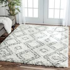 large living room rugs furniture. nuloom alexa my soft and plush moroccan trellis white grey easy shag rug 8 bedroom rugsliving large living room rugs furniture