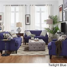 Winslow Concave Arm Modern 3-piece Living Room Set by iNSPIRE Q Bold - Free  Shipping Today - Overstock.com - 13934338