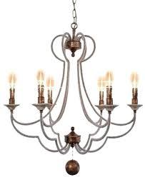 foil chandelier