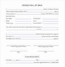 30 Elegant Bill Of Sale Vehicle Template Graphics Yalenusblog
