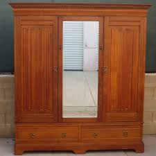 antique furniture armoire. antique armoire wardrobe furniture linen fold 9
