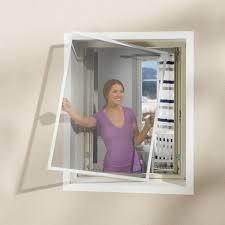 Insektenschutz Fenster 130x150 Weiß Dezenter Insektenschutz Für