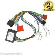 bose amplified car wiring harness adaptor iso loom for audi a2 a3 image is loading bose amplified car wiring harness adaptor iso loom
