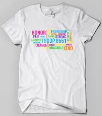 Shirt Design Words Ideas Girl Scout Words Design Girl Scout Shirts Shirt Designs