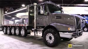 2018 volvo 18 wheeler. interesting wheeler 2018 volvo vhd 300 day cab flat roof dump truck  walkaround 2017 nacv  show atlanta on volvo 18 wheeler