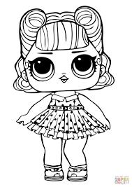 Lol Doll Jitterbug Coloring Page Free Printable Coloring Pages Lol