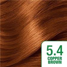 Copper Brown Hair Color Chart Copper Brown Bulurum Co