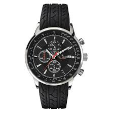 men s accurist watches h samuel accurist men s chronograph black rubber strap watch product number 2295326