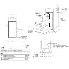 26 inch wall oven replacement single electric