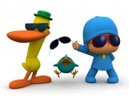 Resultado de imagen de niños con gafas de sol cartoon