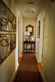 narrow hallway decorating hallway
