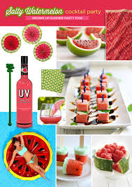 Salty WatermelonCocktail Party Themes For Adults
