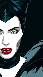Angelina Joli Maleficent Cartoon ...
