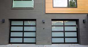 aluminum garage doorResidential Aluminum Glass Garage Door Project