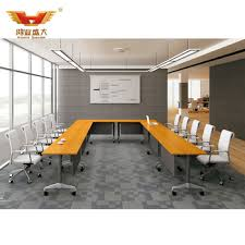 office tables on wheels. U Shaped Conference Tables Design Wooden Meeting Table With Wheels Mobile Office Desk On M