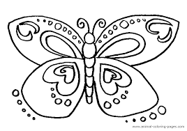 Small Picture Butterfly Coloring Pages Bebo Pandco