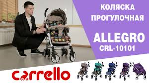 Обзор <b>коляски Carrello Allegro CRL</b>-10101 - YouTube