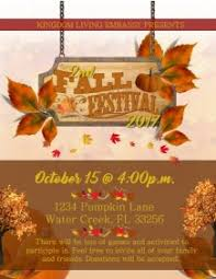 Fall Festival Flyer Free Template 2 250 Customizable Design Templates For Harvest Festival Postermywall