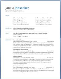 Free Microsoft Word Resume Template 2013 Resume Templates Ms Office