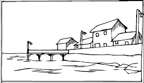 Small Picture Landscape Coloring Pages Wecoloringpage