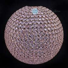 designer crystal stainless steel chandelier 14 inch round sphere bejeweled on now from paperlantern at the best bulk whole s