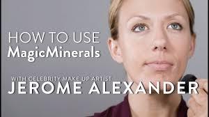 magicminerals tutorial jerome alexander cosmetics