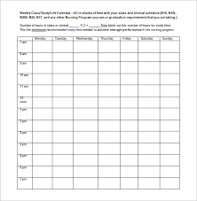 week time schedule template blank school schedule template best 25 school schedule printable