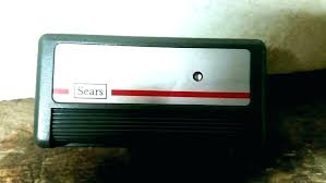 sears garage door opener installation org craftsman manual cost