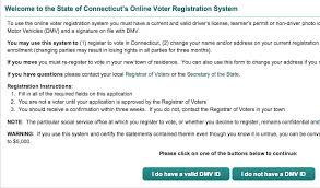 connecticut opens voter registration stamford ct itsrelevant