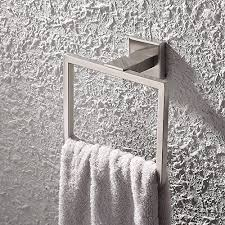 hand towel holder for wall. kes sus 304 stainless steel bath towel holder hand ring hanging hanger bathroom accessories contemporary hotel square style wall mount, for g
