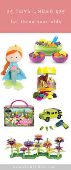 25 Toys Under $25 for Three-Year-olds | Thrifty Littles Gift Guide: Top Three-Year-Olds